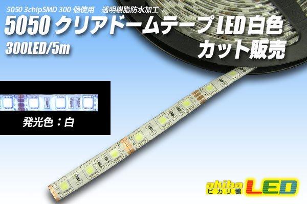 画像1: カット品 5050/300LED 白色 (1)