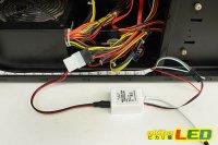 画像1: ペリフェラル4pin/DC変換ケーブル 5V