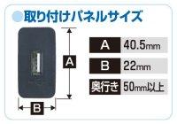画像1: USBスマート充電キット(トヨタ・ダイハツ車用) 2871