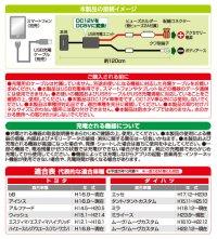 画像2: USBスマート充電キット(トヨタ・ダイハツ車用) 2871