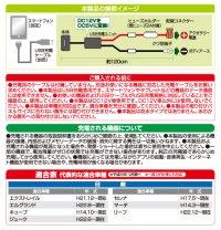 画像2: USBスマート充電キット(日産車用) 2872