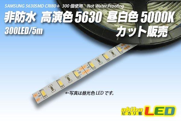 画像1: カット品 5630/300LED 非防水 昼白色 5000K (1)