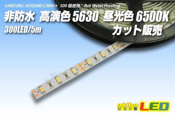 画像1: カット品 5630/300LED 非防水 昼光色 6500K (1)