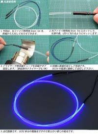 画像3: DC5V 3mm光ファイバー用LED光源