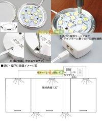 画像3: 超薄LEDダウンライト 2W 9LED