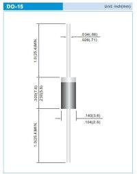 画像1: 高速整流ダイオード PS2010R 2A