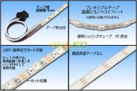 画像1: PE防水 超極細 NeoPixel MiniテープLED 1m/60LED